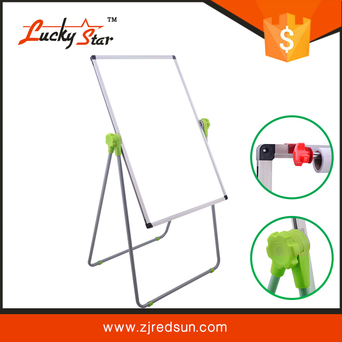 Highest Level Eco-Friendly Custom Design Flip Chart with Wheels whiteboard /movable whiteboard /school teaching board