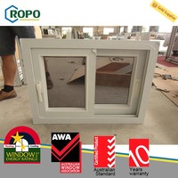 Best price superior quality single glazed pvc windows