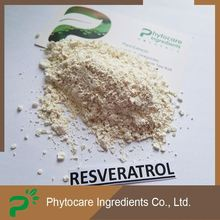 Good pricing 100% natural plant source resveratrol powder 98%