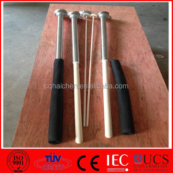 High Temperature Immersion Thermocouple type S for Salt Bath
