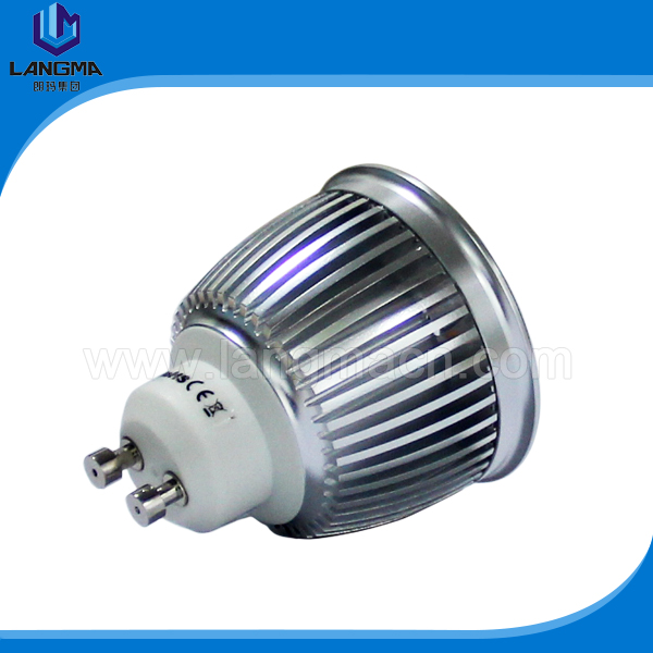 38 degree 60 degree 120V 240v dim 4000k 5000k 6000k 550 lumen gu10 led lamps manufacturer