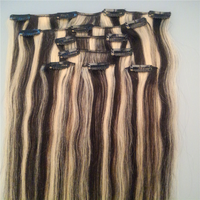 full head clip in hair extensions for african american, clip in hair extensions for black women
