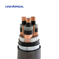 6 / 10 kV Medium Voltage Cables Three-Core Steel tape armoured CU/XLPE/PVC/STA/PVC IEC60502-2
