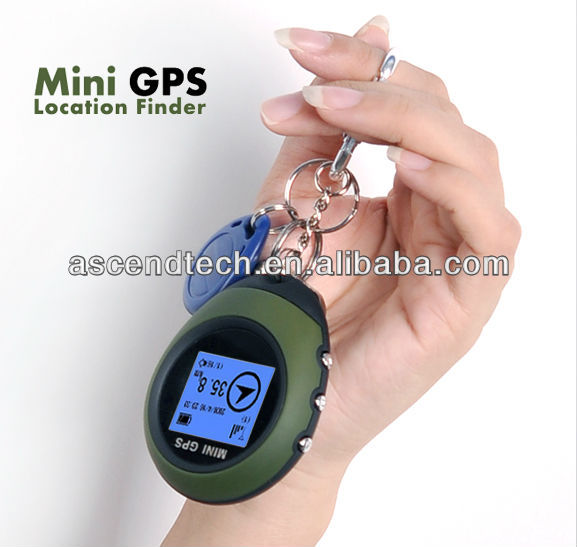 GPS Watch Tracker with geographic coordinates, directions, world time, distance, mileage, and velocity information