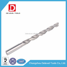 Changzhou Delevel-Tungsten Steel Coolant Drilling Bit Tool / 2 Flute CNC Dilling Drill Bit Cutter