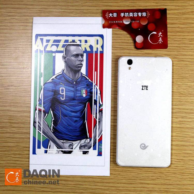 For iphone 6 decoration sticker mobile phone skin machine