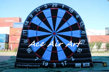 giant football dart game inflatable soccer dart board for kids and adults