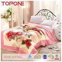 Factory directly provide Eco-friendly jacquard woven blanket