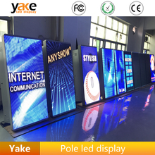P4 P5 P6 outdoor pole led display signs wifi 3G advertising street led display