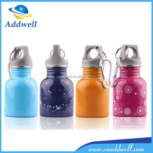 130ml stainless steel travel sport baby water drink bottle