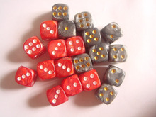 Dream series dice/Custom specifications, material, shape, color, LOGO image/Plastic dice