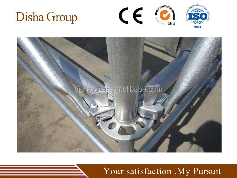 galvanized connection painter ring lock scaffolding system