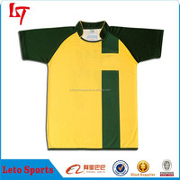 Bulk Cheap Plain Rugby Jerseys/Latest Plus Size Rugby Training Shirt/New Style Tight Fit Rugby Tops