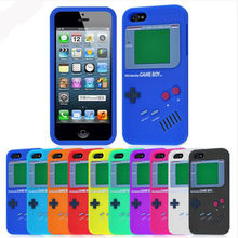 soft silicone 3D cute game design boy case rubber phone cover for iphone 5