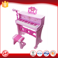 Hot best ABS games learning girl pink piano nstrument music keyboard