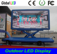 P10 outdoor full color mobile LED Display