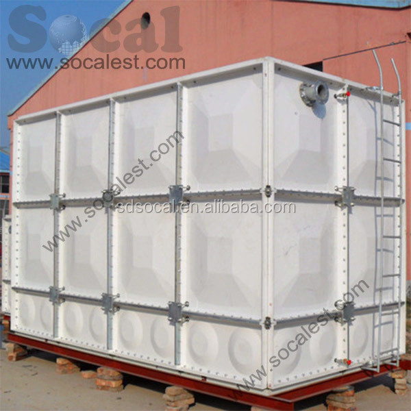 FRP SMC water tank stainless steel water storage tank container