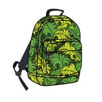 2014 latest leisure school backpack, canvas kids cheap school bag