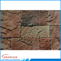 New popular faux stacked stone tiles for outside wall