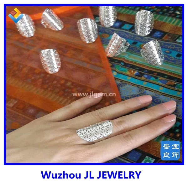 Cheap factory adjust seed of life ring fashion flower of life ring for christima