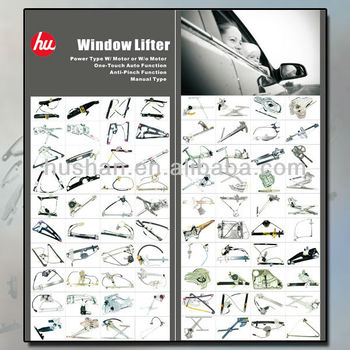 Auto Parts Window Lifter Power Manual Window Regulator