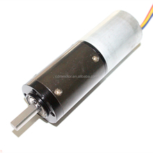 28mm 12v dc planetary gear motor with encoder of 100rpm