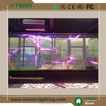 Large Size Indoor transparent led curtain display/Cheap LED Video Wall