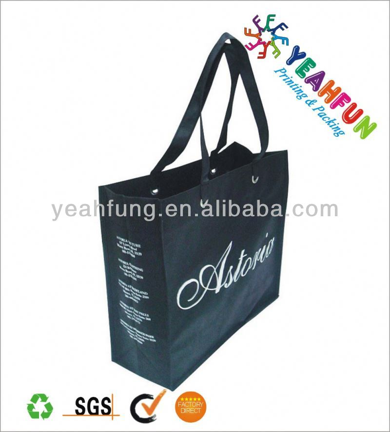 Luxury shopping bags printed
