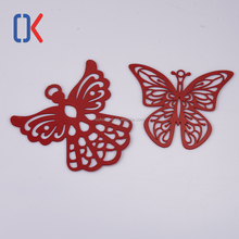 hot selling creative wedding gift butterfly-shape stainless steel bookmarks