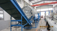 High quality pp/pe film crushing and washing line