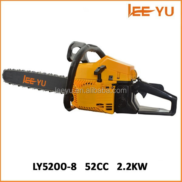 52CC 2 Cycle Gas Powered Chain Saw Home Tree Chainsaw