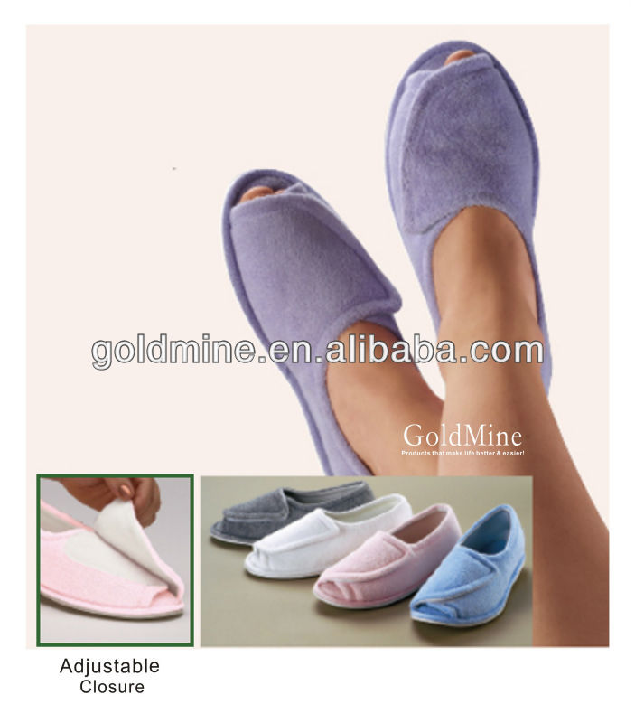 Comfort Slippers/ most comfotable slippers/indoor shoes/comforts shoes/clinic comfort slippers/Easy Adjustable Closure/indoor sh