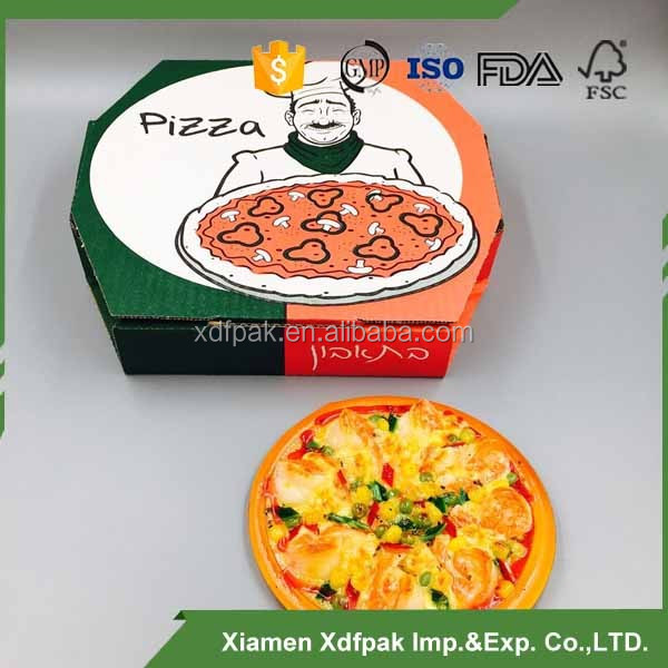 10inch circle pizza box /cooker pizza boxes/Brown pizza boxes