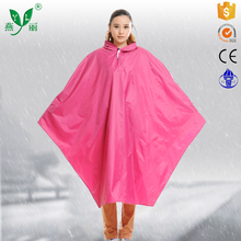 emergency poncho adult polyester poncho rainsuit customized polyester adult waterproof rain poncho