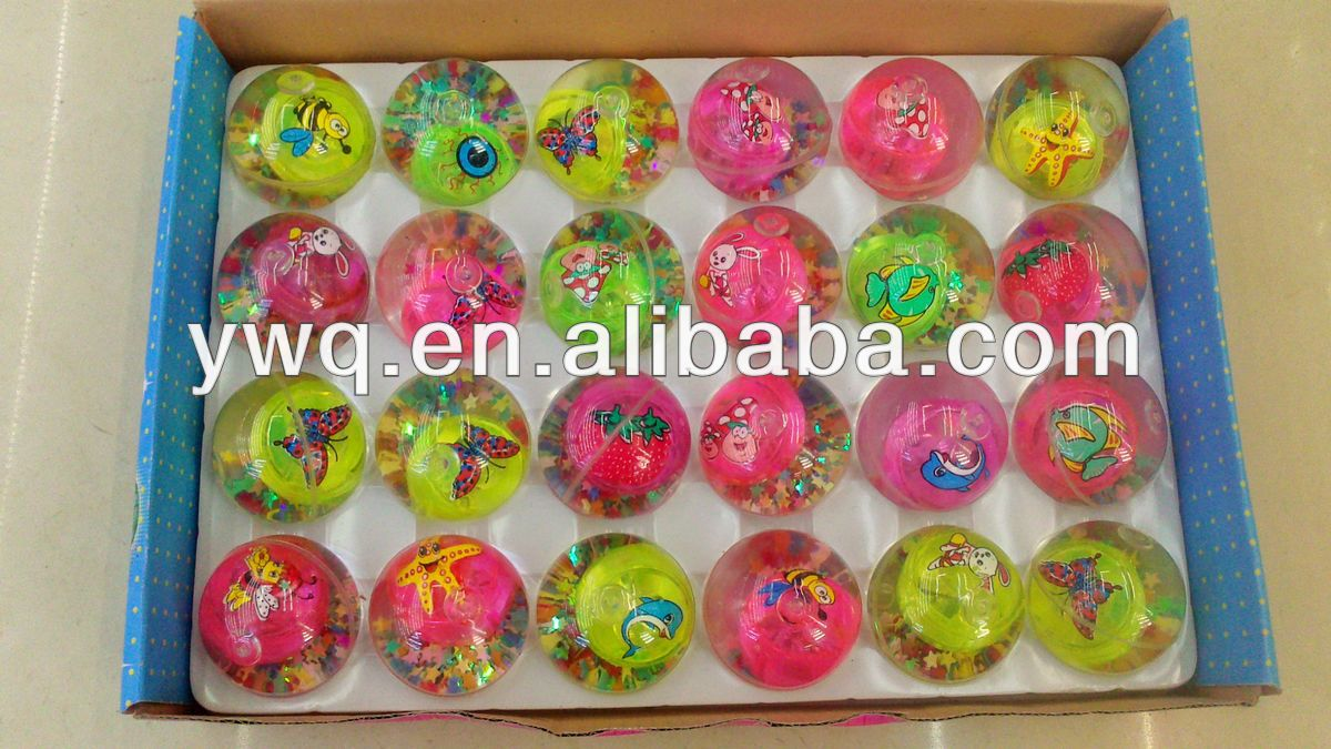 2013 high quality Toy Vending Machine Rubber Bouncy Ball