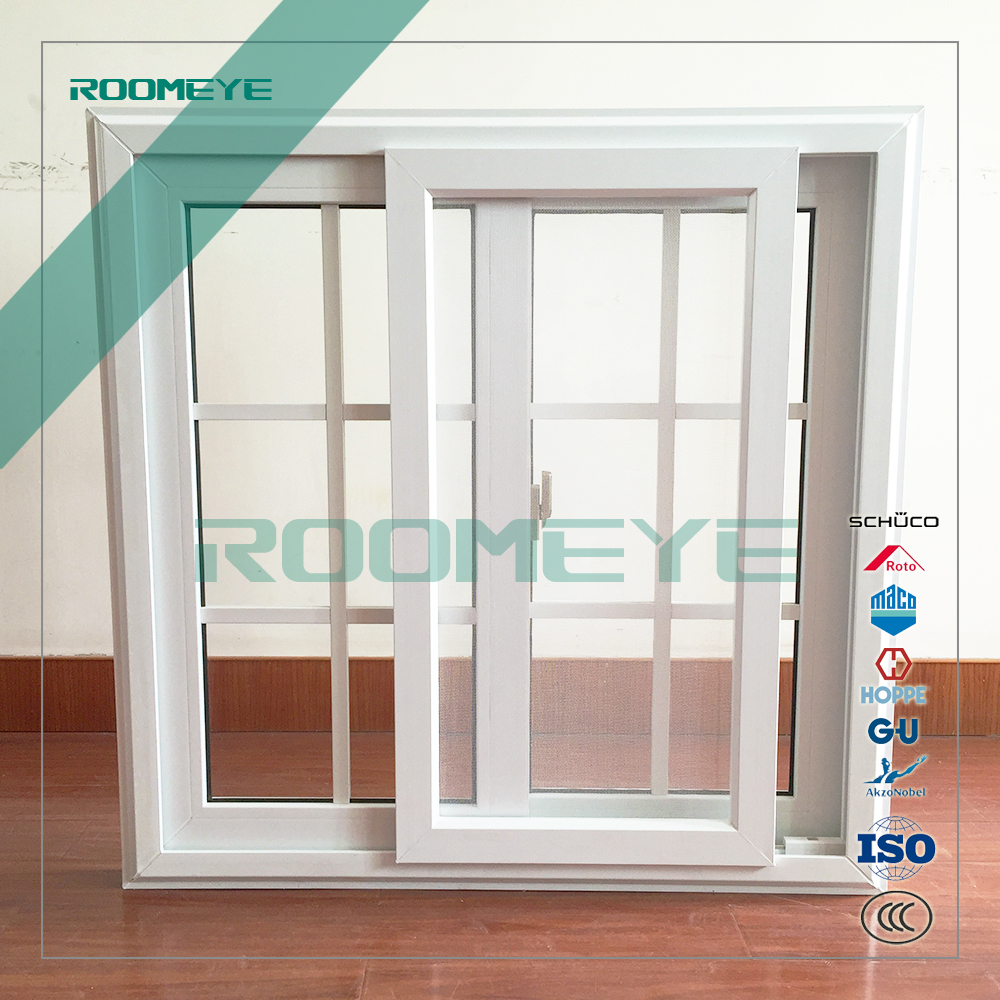 ROOMEYE modern house upvc window grill design European style