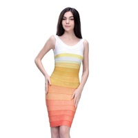 2016 Latest fashion elegant two piece plus size dresses sexy tight bodycon multicolor for women dress uk