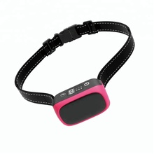 US Amazon Hot Selling Vibration Shock Waterproof Rechargeable Pet Barking Control Products Humane Dog No Bark Collar
