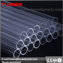 High pressure cut quartz tube for tube furnace
