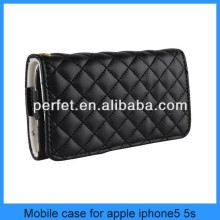 Hot selling cute women wallet case for iphone 5 purse case wholesale OEM