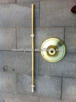 Extendable indoor flag stand pole and base