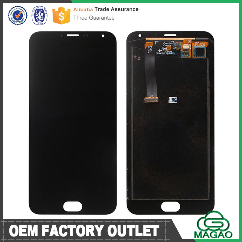 Grade A OEM for meizu mx5 lcd with digitizer, complete lcd display for meizu mx5