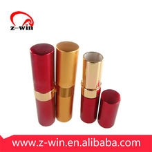 Z-WIN 77x18mm Red&Gold Metal Lipstick Case