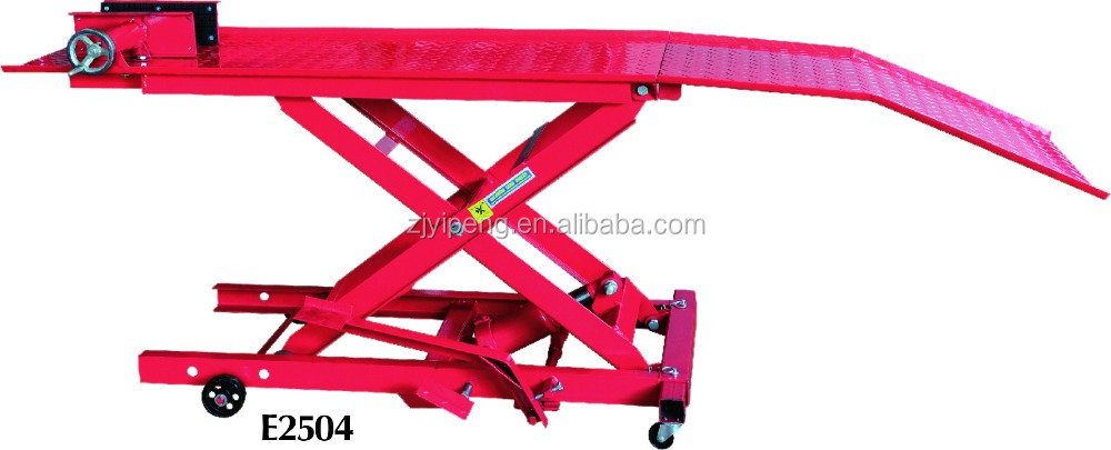 car repair lift 800lb motorcycle lifting device repair vehicle