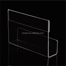 2016 clear best selling hot products Acrylic/Plexi/PMMA unique acrylic business card holder display