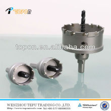 40CR Tungsten carbide tipped hole saw tct metal hole cutter For cutting stainless steel