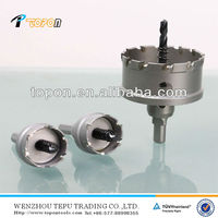 Tungsten carbide tipped hole saw
