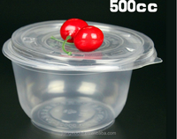 Clear Microwave Plastic Disposable Food Container