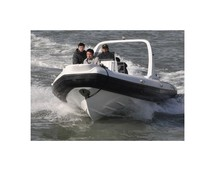 Liya 25ft rigid inflatable boat hypalon sports inflatable boats sea motorboat