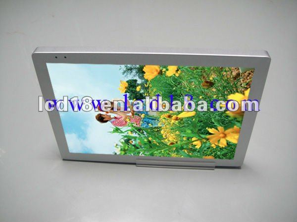 "22"" bus lcd hard disk media player with display"